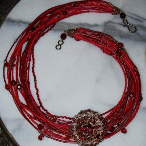 Ring Of Fire Necklace Project