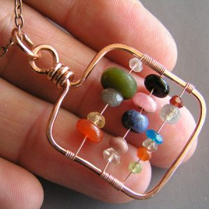 Abacus Pendant Jewelry Idea