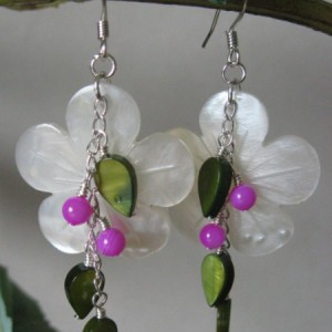 Summer Flora Earrings Project Idea