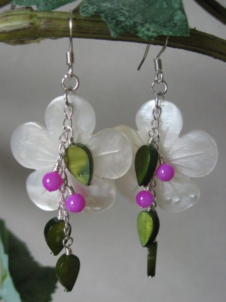 Summer Flora Earrings Project