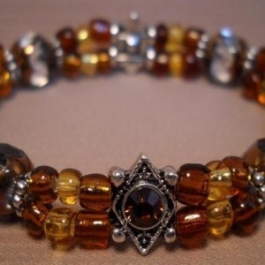 Amber Waves Bracelet Project