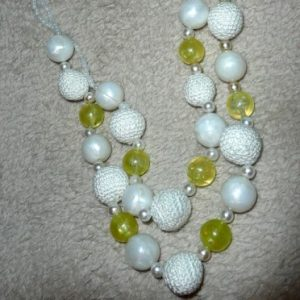 Crochet Beads Necklace Project Idea
