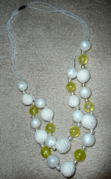 Crochet Beads Necklace Project