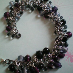 Purple Clusters Bracelets Project