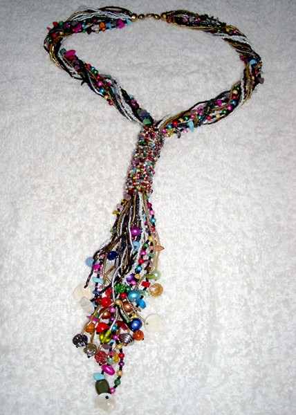 Stole Pattern Beaded Necklace Project