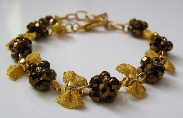 Golden Arielle Bracelet Project