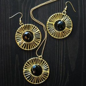 Sun Inspired Necklace Set Project Idea