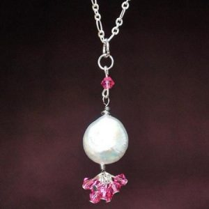 Rose Swarovski Necklace Project
