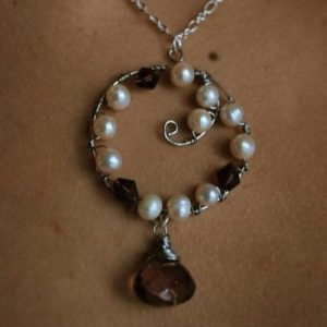 Swirl Pearls Pendant Project