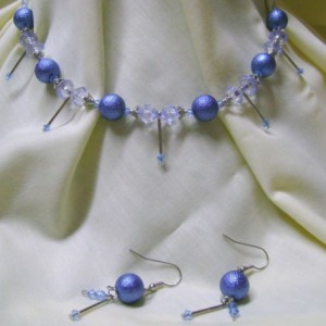 Denim In Style Necklace Set Project Idea
