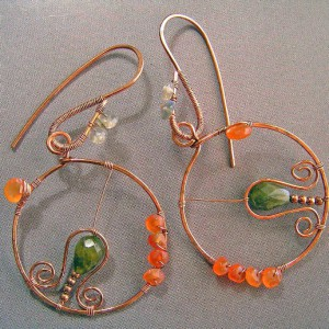 Planetary System Earrings Project