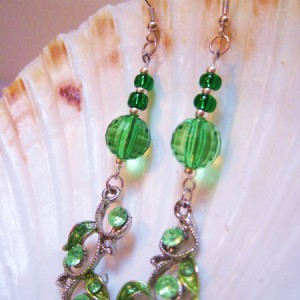 Emerald Green Earrings Project