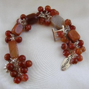Fire Agate Bracelet Project