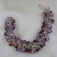 Lilac And Purple Bracelet Project