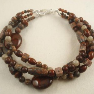 Triple Jasper Necklace Project Idea