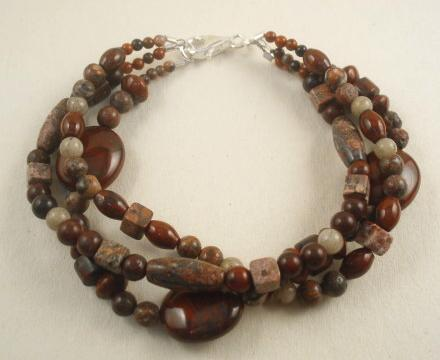 Triple Jasper Necklace Project