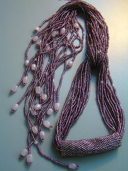 Seed Beads Scarf Necklace Jewelry Making Amp Beading Ideas