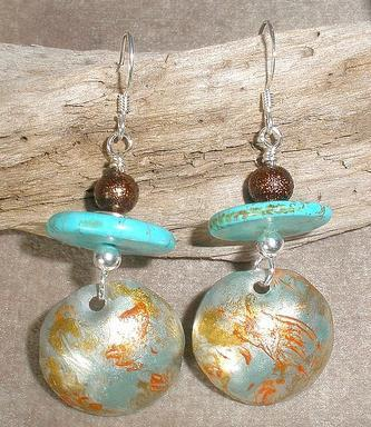 Hammered Aluminum Earrings Project