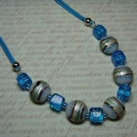 Cool Blues Necklace Project