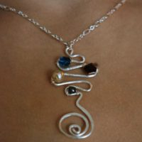 Swirly Zigzag Pendant Project