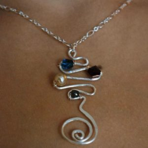 Swirly Zigzag Pendant Project Idea