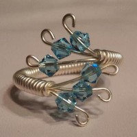 Wire Wrapped Swarovski Crystal Ring Project
