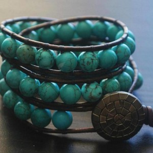 Turquoise Wrist Wrap Jewelry Idea