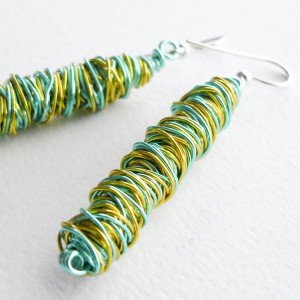 Freeform Wire Earrings Project Idea