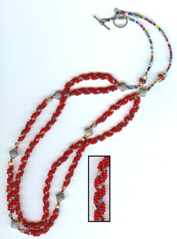 Double-strand DNA Necklace Project