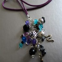 Cluster Charm Necklace