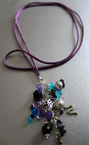 Cluster Charm Necklace Project