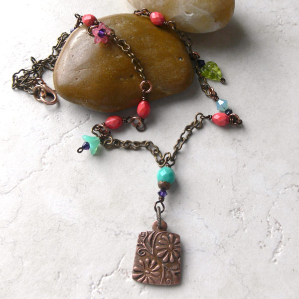 Hippy Chick Necklace Project