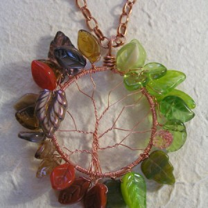 All Year Round – Tree Pendant Jewelry Idea