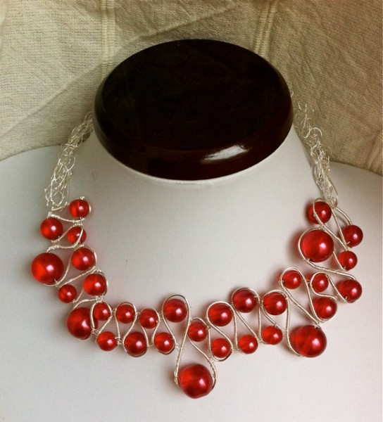 Cranberry Necklace Project