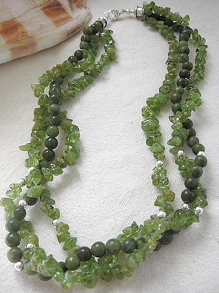 Seaweed Necklace Project
