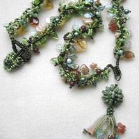 Green Man Necklace Project