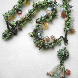 Green Man Necklace Jewelry Idea