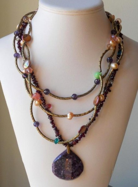 Ms. Suge Sugilite Necklace Project