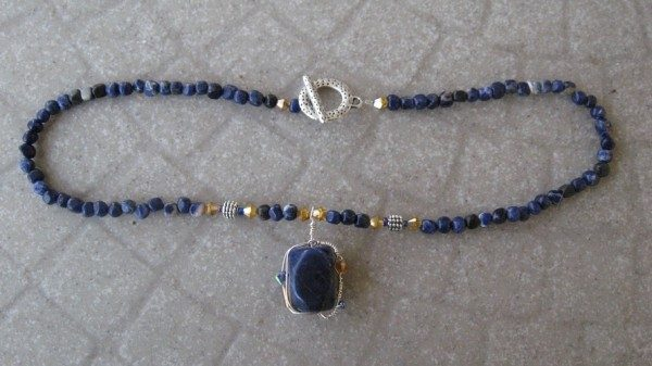 Starry Night Beaded Necklace Project