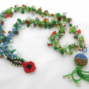 Poppy Fields Necklace Jewelry Idea