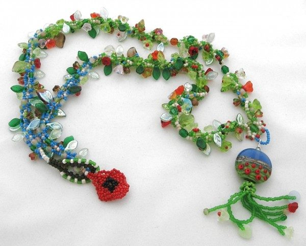 Poppy Fields Necklace Project