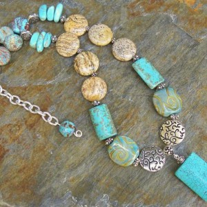 Marlee Turquoise Necklace Project Idea