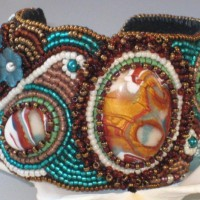 Treasures In The Woods Beadded Cuff Project