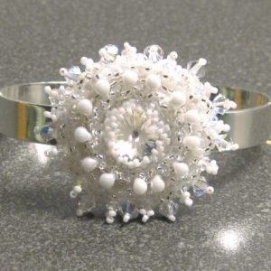 Star Of Ice Cuff Jewelry Idea