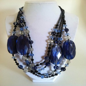 Tristan Blue Quartz Necklace Project Idea