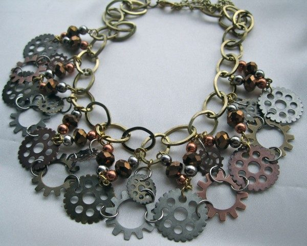 Steampunk Lace Necklace Project