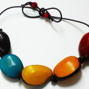 Coloured Soul Tagua Necklace Project Idea