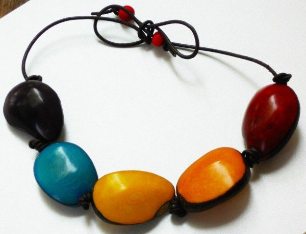 set earrings and cadena market necklace tagua bee llc products zee