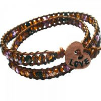 Love At First Sight Wrap Bracelet Project
