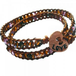 Love At First Sight Wrap Bracelet Project Idea